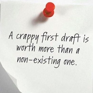 Crappy First Draft