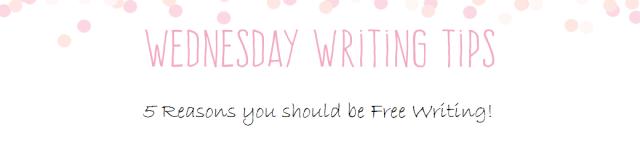 Wednesday Writing Tips free writing