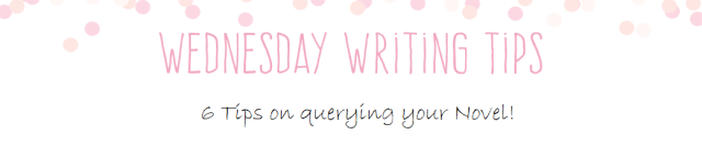 Wednesday Writing Tips query