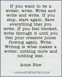 Write write