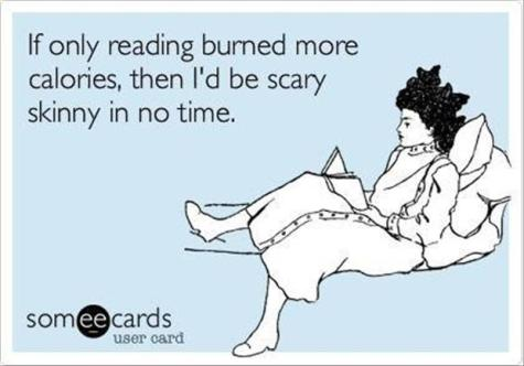 funny-ways-to-diet-burning-calories-reading-a-book